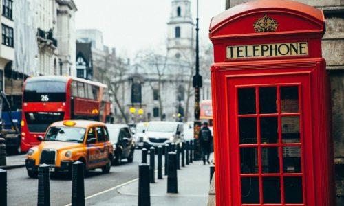 Η πρώτη φορά στο Λονδίνο