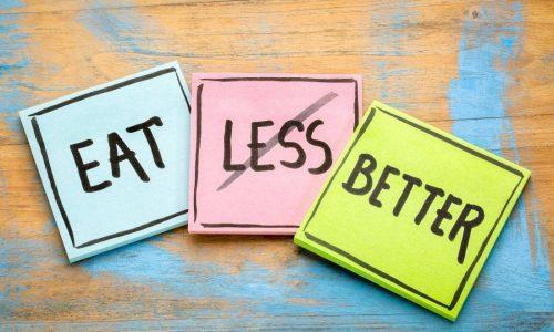 Χορταίνουμε περισσότερο τρώγοντας λιγότερο
