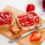 Μαρμελάδα φράουλα με στέβια και σπόρους chia